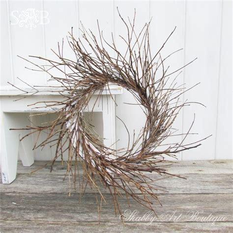 diy twig wreath shabby art boutique diy twig wreath easter pinterest