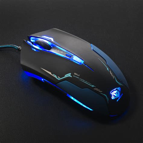 Mouse Gaming E Blue auroza pro gaming mouse e blue touch of modern