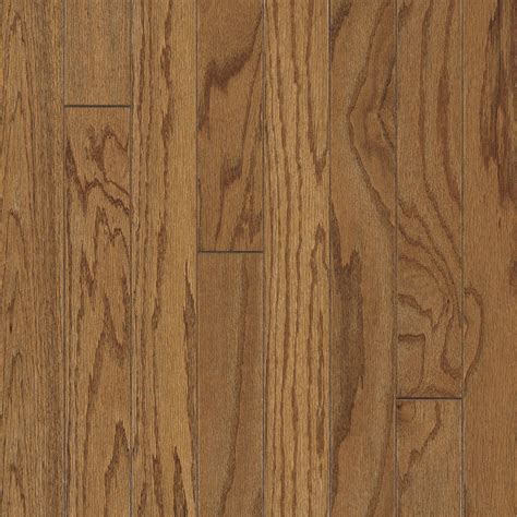 Prefinished Oak Hardwood Flooring Shop Bruce America S Best Choice 3 In W Prefinished Oak Engineered Hardwood Flooring Gunstock
