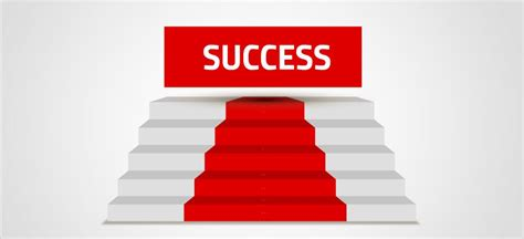 steps to success presentation template sharetemplates
