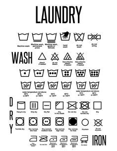 printable laundry directions as students return to school for a new fall semester they