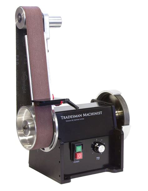 bench grinder belt sander belt sander for tradesman machinist bench grinder