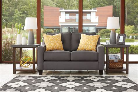 aldie nuvella gray sofa chaise aldie nuvella gray sofa chaise loveseat nc gallery
