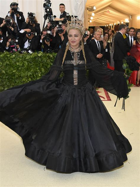 Just Am Not Feeling Madonnas New Fashion Line by Madonna Was 2018 Met Gala S Best Obvious Icon