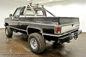1980 Chevrolet K10 1980 Chevrolet Silverado Swb K10 4x4 For Sale Classic