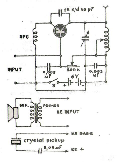 skema rangkaian elektronika rangkaian power amplifier kumpulan skema elektronika