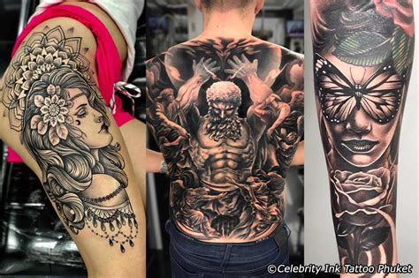 celebrity ink tattoo thailand 12 best tattoo studios in phuket phuket magazine