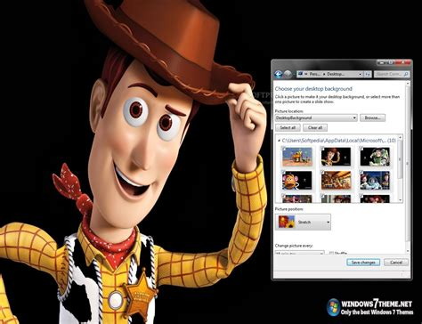 themes toy story 3 toy story 3 windows 7 theme download