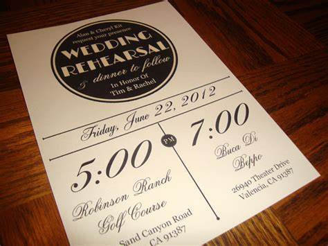 do you send invitations for a rehearsal dinner custom printable vintage wedding rehearsal dinner