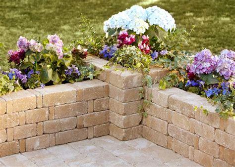 Home Depot Garden Stones by How To Build A Rumblestone 90 Degree Planter Garden Club