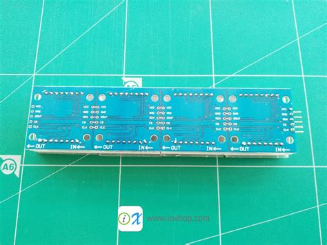Max7219 4 In 1 Dot Matrix Module 4 in 1 dot matrix display module max7219 inspired by