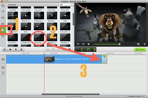 tutorial movie maker mac imovie transitions how to add transition in imovie