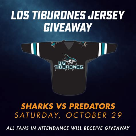 Sharks Giveaway Schedule - san jose sharks new sales