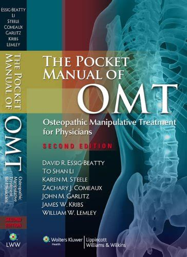 a manual of osteopathic manipulations and treatment classic reprint books save 30 the pocket manual of omt osteopathic