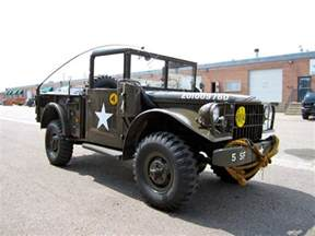 Dodge M37 1953 Dodge M37 Power Wagon 3 4 Ton Armed Forces Cargo