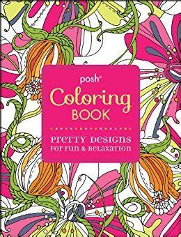 posh coloring book review posh coloring book pretty designs for