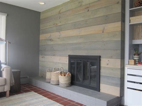 Home Depot Kitchen Cabinets Canada by Design Megillah Faux Barnwood Wall On Design Sponge