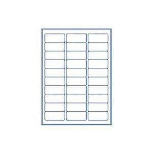 Avery 30 Labels Per Sheet Template by Avery Inkjet Address Labels White 50 Sheets 30 Per Page