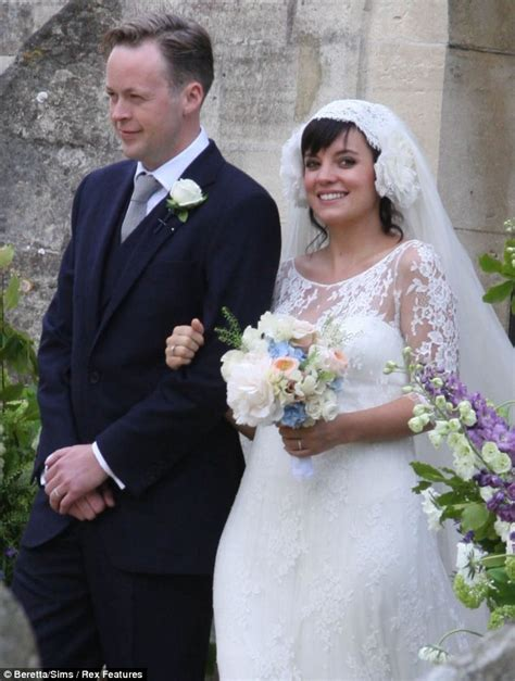 lily allen wedding lily allen pregnant reveals sam cooper as they get married