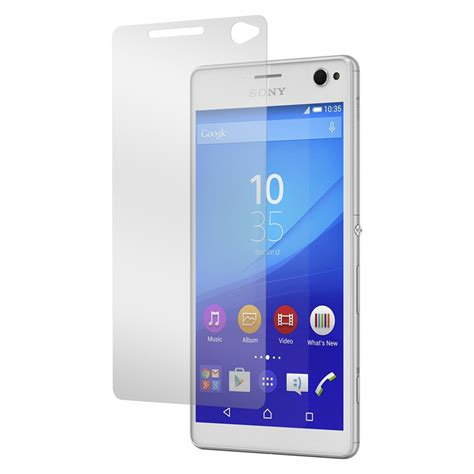 Ion Sony Xperia C Tempered Glass Screen Protector 1 tempered glass sony xperia c4 screen protector 綷