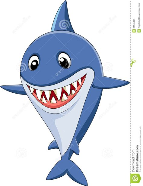 baby shark cartoon cute shark clipart clipart suggest