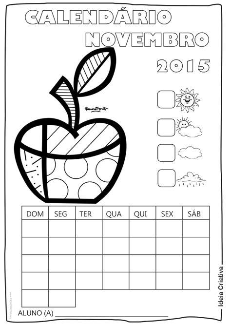O M Calendario Calend 225 Rios 2015 Romero Britto Para Imprimir E Colorir