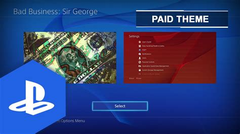 Ps4 Themes Are Bad | ps4 us bad business sir george static theme youtube