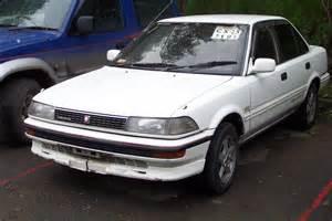 Toyota 1987 For Sale 1987 Toyota Corolla Pictures 1600cc Gasoline Ff