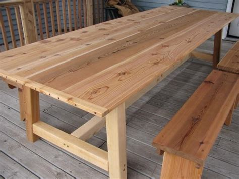 Large Patio Table by Best 25 Outdoor Dining Tables Ideas On Diy
