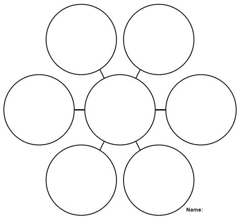 web diagram template printable graphic organizers calloway house