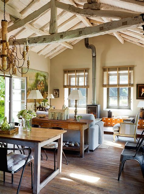 Country Interiors by Restored Schoolhouse In Spain Home Bunch Interior Design