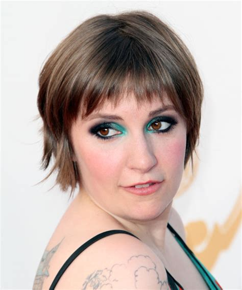 lena dunham short hair lena dunham short hair lena dunham short straight casual