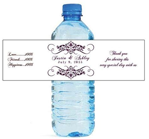 mineral water label template mineral water label template new water bottle