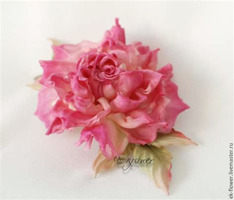 Silk Fabric Flowers Handmade - fabric flowers silk flowers quot milenia quot shop