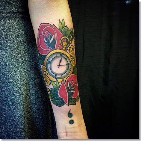rose and watch tattoo meaning 75 brilliant pocket designs made