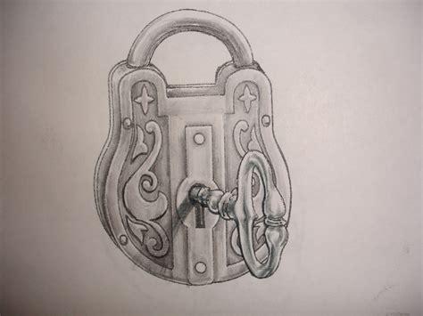 tattoo my photo app unlock key drawn key padlock key pencil and in color drawn key