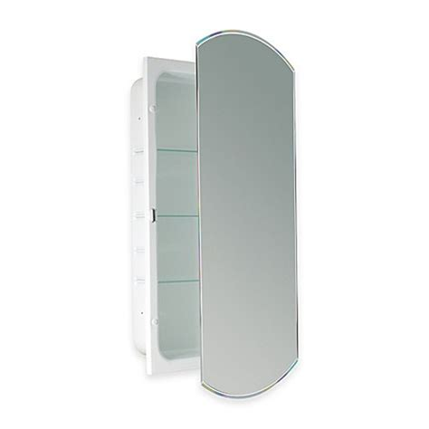 white recessed medicine cabinet with mirror buy recessed beveled recessed mirrored medicine cabinet in