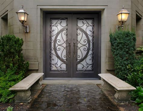 iron home why people choose wrought iron doors for their home