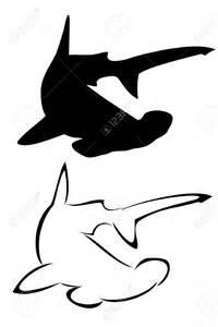 hammerhead shark silhouette 30 awesome hammerhead shark designs