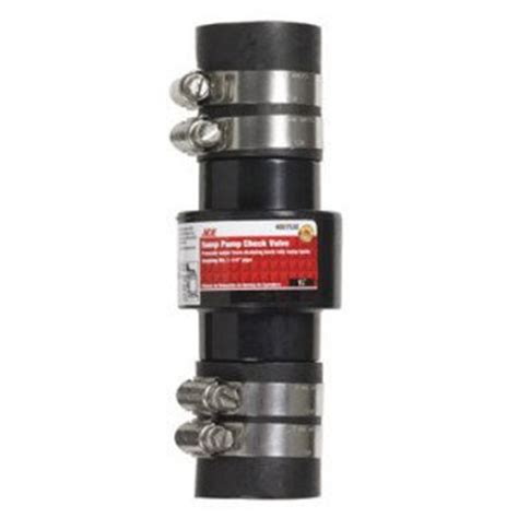 ace kitchens u0026 baths ace sump check valve includes rubber sleeves u0026