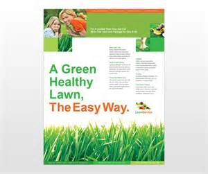 lawn care flyers templates lawn maintenance business services flyer templates