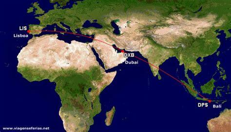 emirates denpasar bali mais perto de portugal com emirates a partir de junho