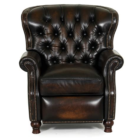 barcalounger leather recliner barcalounger presidential ii leather recliner chair