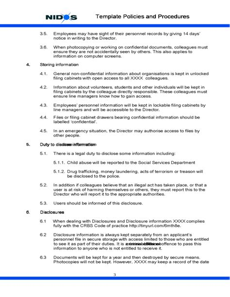 confidentiality policy template privacy statement pictures to pin on pinsdaddy