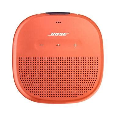 Jkt Bose Wireless Speaker Soundlink Revolve Plus Garansi Resmi jual bose soundlink micro bluetooth speaker orange harga kualitas terjamin blibli