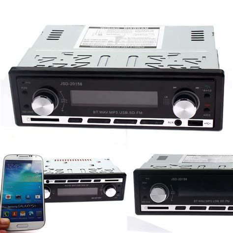 Car Radio Aux Port by Sale Bluetooth Car Stereo Audio In Dash Fm Aux Input