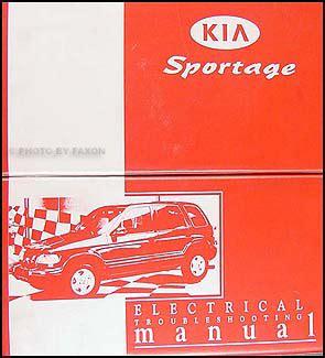 1999 2000 kia sportage electrical troubleshooting manual