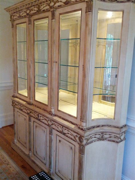 Decorating China Cabinet by Sunderland On Design How To Decorate A China Cabinet