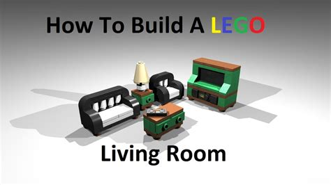 how to build a lego bedroom how to build a lego living room custom moc instructions
