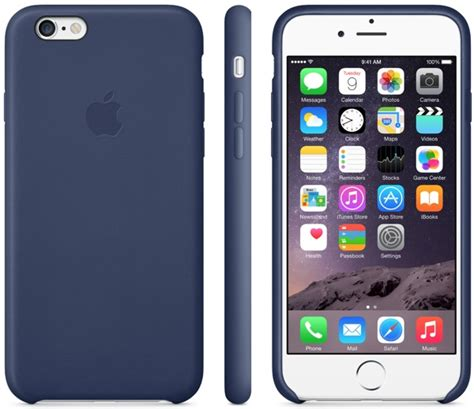 Casing Custom Iphone6 apple introduces leather and silicon cases for the